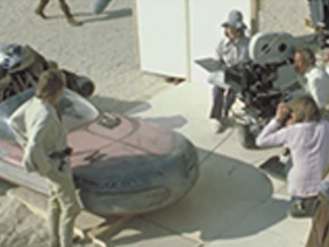Star Wars long time boom operator Ken Nightingall – aka 'pink shorts boom guy' – dies aged 92