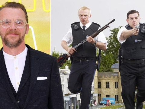 Simon Pegg reveals the Hot Fuzz sequel we could've been blessed with