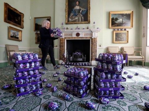 National Trust has a mountain of chocolate eggs to give away after Easter hunt was cancelled