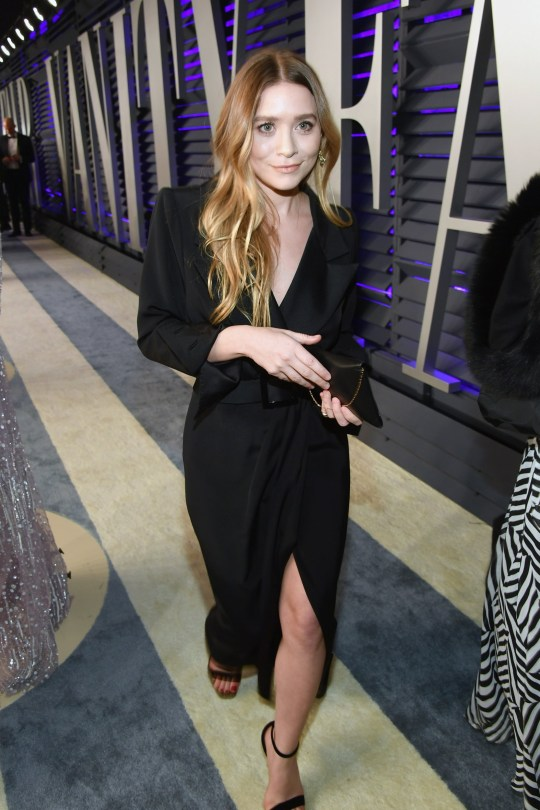 BEVERLY HILLS, CA - FEBRUARY 24: Mary-Kate Olsen attends the 2019 Vanity Fair Oscar Party hosted by Radhika Jones at Wallis Annenberg Center for the Performing Arts on February 24, 2019 in Beverly Hills, California. (Photo by Mike Coppola/VF19/Getty Images for VF)