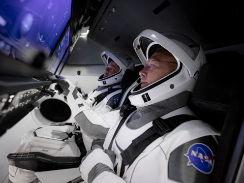 Nasa astronauts complete dress rehearsal for SpaceX launch