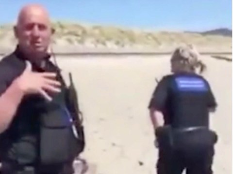 English woman calls Welsh 'a bunch of b*****ds' after being told to leave beach