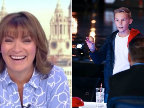 Britain's Got Talent's 14-year-old magician tricks Lorraine Kelly live on GMB
