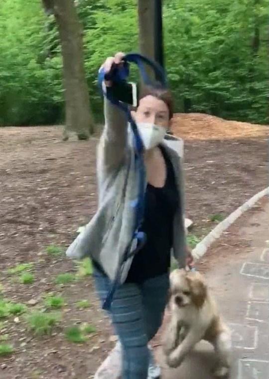 Amy Cooper a appelé la police de Christian Cooper pour lui avoir demandé de mettre son chien en laisse.