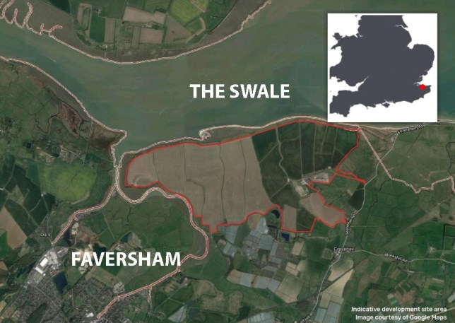 Britain's biggest solar farmPicture: Hive Energy