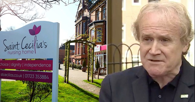 A care home boss has admitted he took in patients with coronavirus to keep the business afloat.