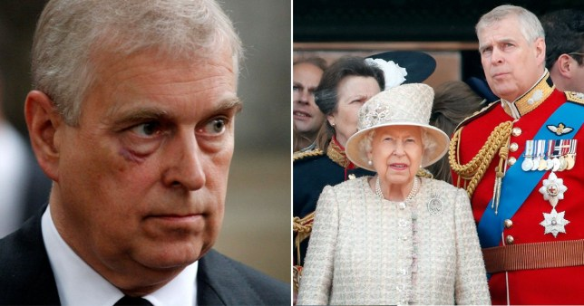 Prince Andrew will never represent royal family again