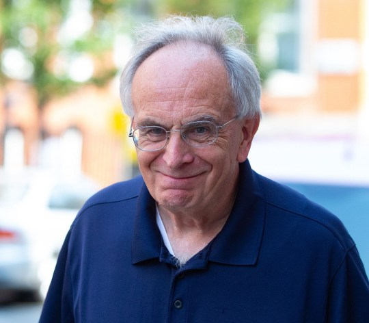 Mandatory Credit: Photo by Mark Thomas/REX/Shutterstock (10373593b) Peter Bone MP, MP for Wellingborough, out and about in Westminster. Peter Bone MP, London, UK - 27 Aug 2019