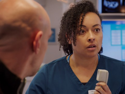 Holby City review with spoilers: Guy Self gets comfortable, and Kian and Jac get very friendly indeed