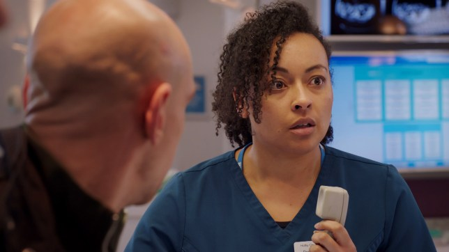 Donna in Holby City