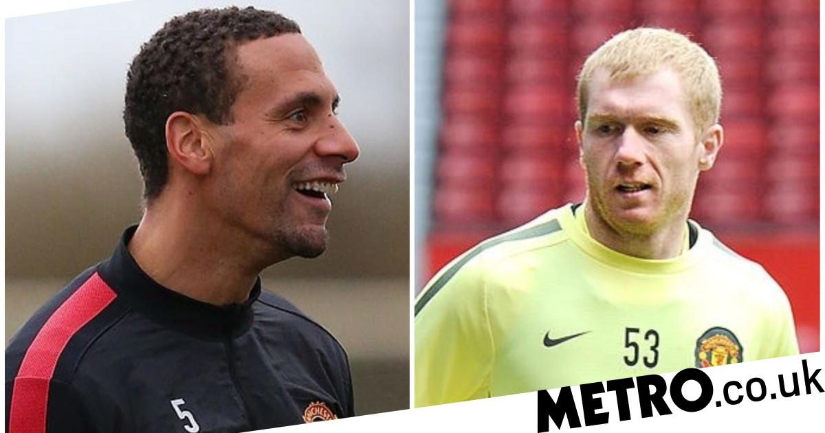 Rio Ferdinand reveals two Man Utd players were scared to join Paul Scholes' two-touch game - Metro.co.uk