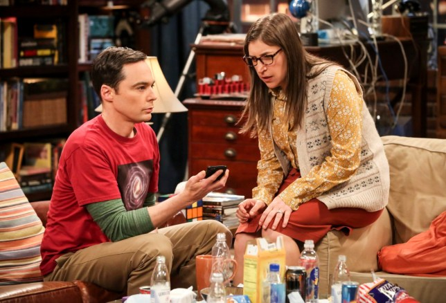 sheldon and amy big bang theory