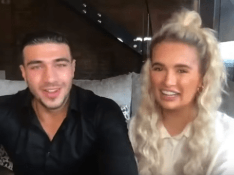 Love Island's Molly-Mae Hague and Tommy Fury pranked into thinking they had a James Corden interview