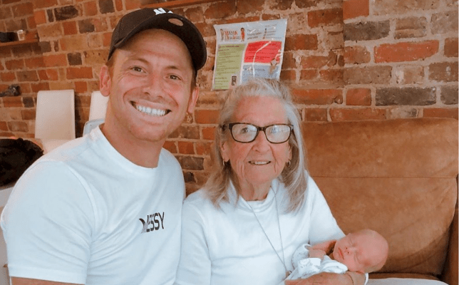 Joe Swash grandmother