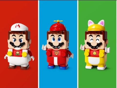 Lego Super Mario Power-Up Packs are essentially Lego DLC