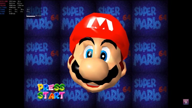 Super Mario 64 PC port