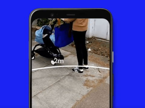 Google's new AR tool will visualise social distancing for you