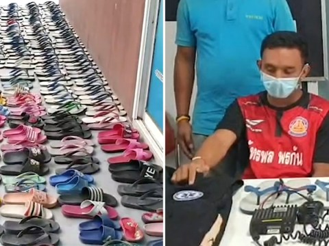 Man with shoe fetish stole 126 flip-flops so he could have sex with them