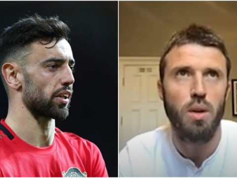 Michael Carrick hails Bruno Fernandes but says it is 'unfair' to compare Manchester United midfielder to Paul Scholes