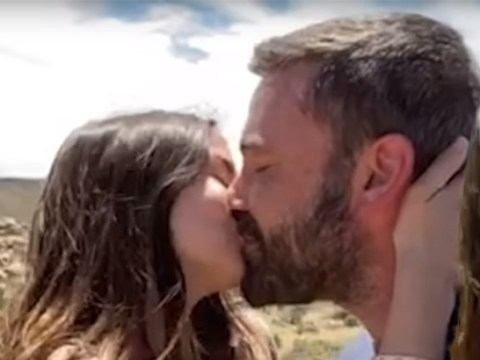 Ben Affleck and Ana de Armas share sweet kiss in music video featuring loads of celebrity smooches