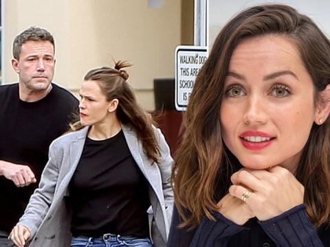 Ana De Armas 'admires' the way Ben Affleck and Jennifer Garner are co-parenting together