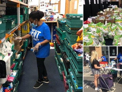 Foodbank hands out 21,000 extra meals because of pandemic