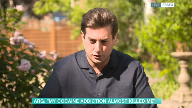 James Argent on This Morning
