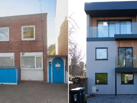 Couple transform house labelled 'ugliest on the street' into amazing dream home