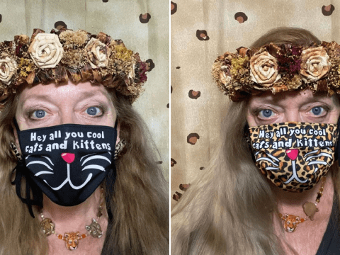 Tiger King's Carole Baskin is selling coronavirus face masks with her iconic 'cool cats and kittens' phrase printed on