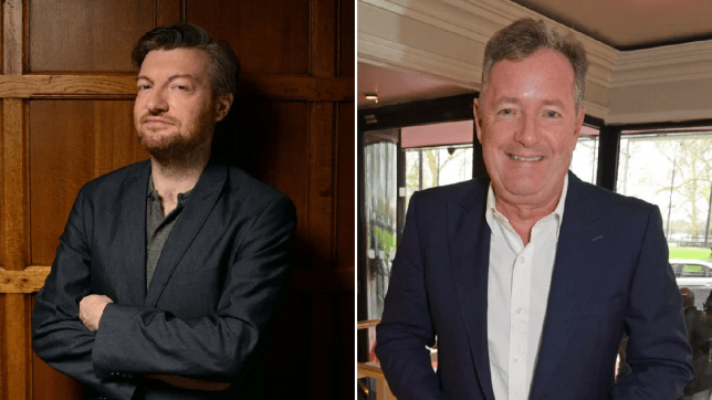 Charlie Brooker Piers Morgan