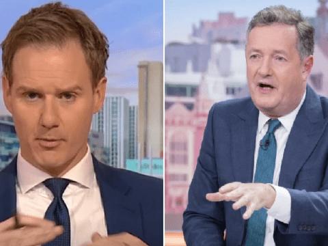 Piers Morgan shuts down Dan Walker's excuses over 'embarrassing' Dominic Raab tweet as GMB boycott row continues