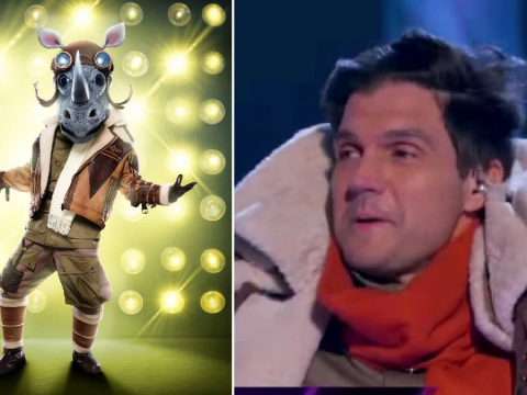 The Masked Singer US: Rhino revealed as baseball star Barry Zito as he misses out on finale