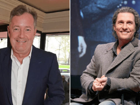 Piers Morgan backs Matthew McConaughey's call for unity during coronavirus crisis: 'It's not a political issue, it's not Brexit'