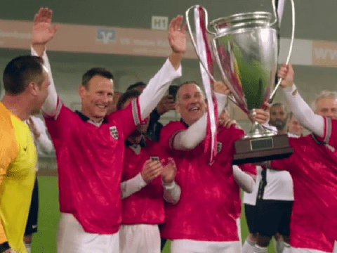 Harry's Heroes viewers brand ITV show 'best part of lockdown' as England legends beat Germany