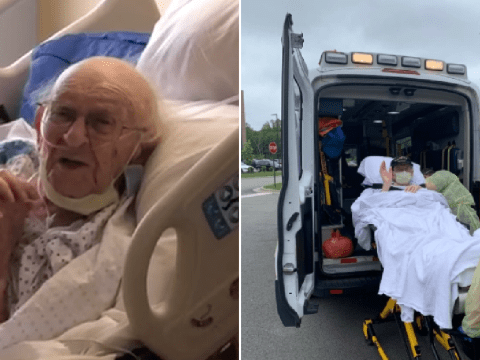 World War II veteran, 100, beats coronavirus after 58 days in hospital
