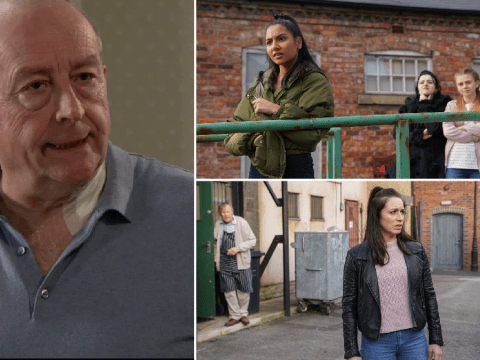 Corrie spoilers: Geoff finally caught, Yasmeen's shock decision and Shona injured