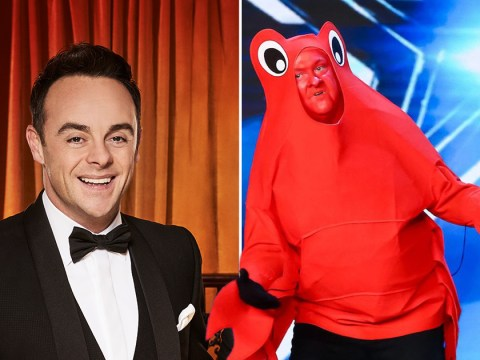 Britain's Got Talent's dancing crab claims he's related to Ant McPartlin