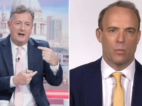 Piers Morgan brands Dominic Raab 'a total disgrace' for wrong advice over meeting parents from a distance