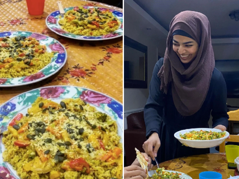 Muslims Who Fast: Fatima, a vegan climate change activist, strives for an eco-friendly Ramadan