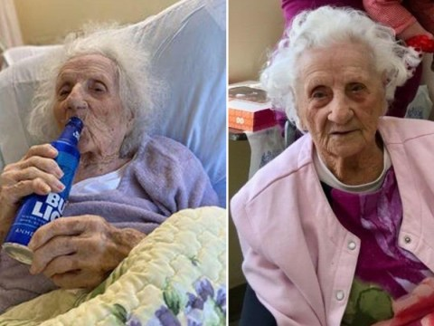 'Feisty' grandma, 103, celebrates coronavirus recovery with a Bud Light