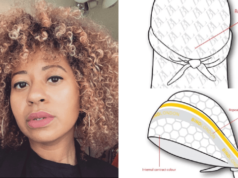 Woman designs fitness durags and headscarfs to encourage black women to work out
