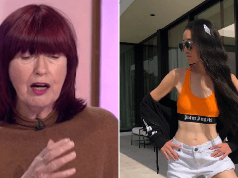 Janet Street-Porter thinks Vera Wang's viral Instagram post is 'depressing' and a 'marketing tool'