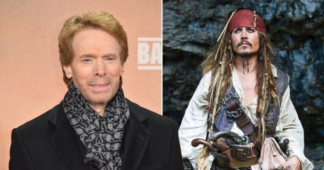 Jerry Bruckheimer Johnny Depp