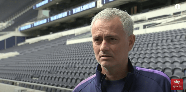 Jose Mourinho is excited about the return of Premier League football