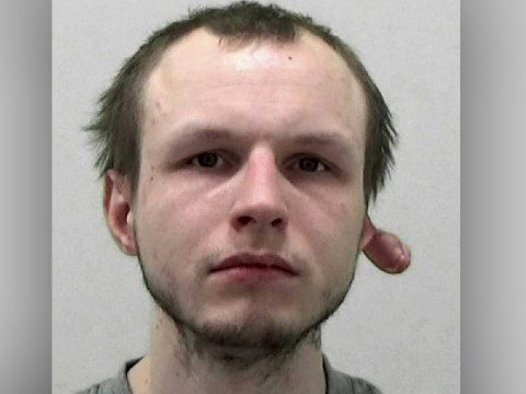 Burglar with half his ear torn off is jailed after leaving victim in 'revulsion'
