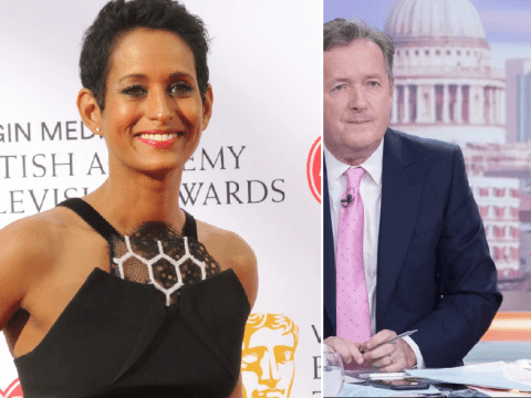 Naga Munchetty has 'immense respect' for Piers Morgan and Susanna Reid despite ratings rivalry