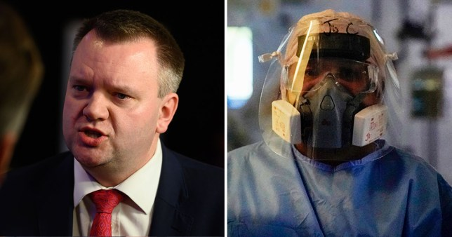 Labour's Shadow Home Secretary Nick Thomas-Symonds on the foreign nurses argument
