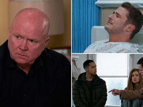 EastEnders spoilers: 20 new images reveal Ben's devastation, Phil's dilemma and Jack's horror