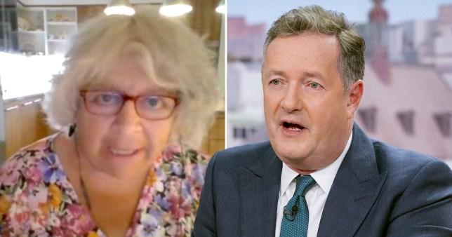 Piers Morgan calls Miriam Margolyes 'disgusting'