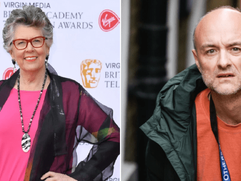 Bake Off's Prue Leith defends Dominic Cummings breaking lockdown: 'How about a bit of kindness and tolerance?'